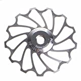 Creazy 13T MTB Ceramic Bearing Jockey Wheel Pulley Road Bike Bicycle Rear Derailleur (Silver) Review