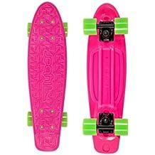 """Flybar 22"""" Plastic Grip Tape Cruiser Skateboard Complete"""