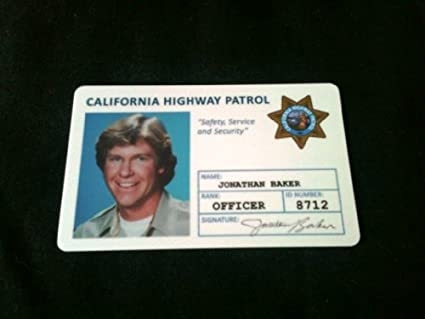 "California CA Highway Patrol CHiPs FULL SIZE 5/"" ARM patch NEW!"