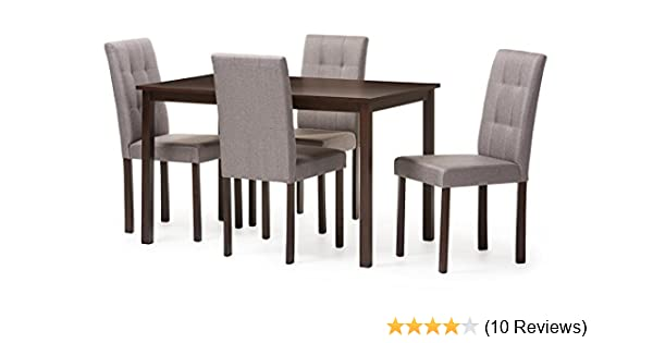 Amazon Com Baxton Studio 5 Piece Andrew Modern And Contemporary
