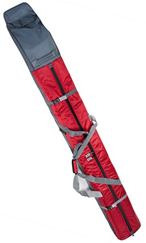 Select Sportbags Padded Single Ski Bag w/ Wheels (Red) by Select Sports