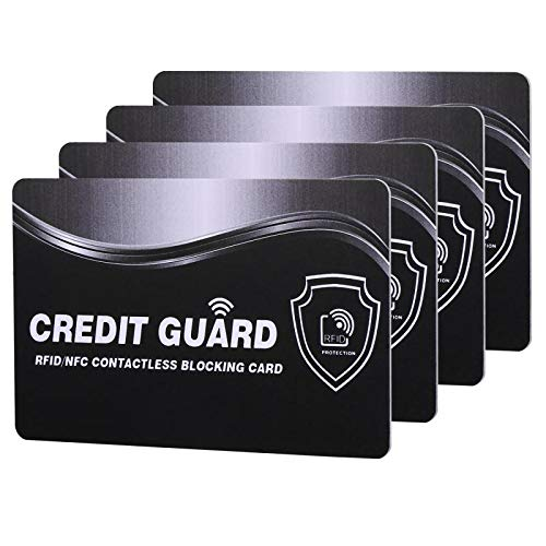 RFID Blocking Card   NFC Contactless Cards Protection   1 Card Protects Your Entire Wallet   No More Need for Single Sleeves   for Men or Women, Credit Card Holder, Wallets or Passport