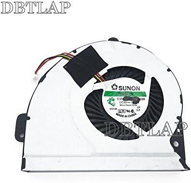 DBTLAP Laptop CPU Fan Compatible for ASUS P43E P43SJ P53SJ K53SC K53SK K53SM K53SV UDQFZJA02DAS CPU Cooling Fan