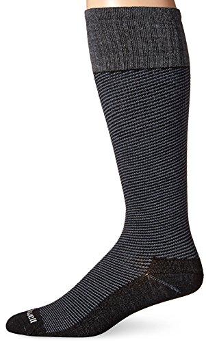 Men's Sockwell Bart Graduated Compression Socks, Black, Medium/Large