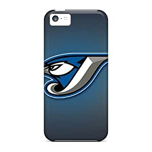 High Quality Shock Absorbing Case For Iphone 5c-toronto Blue Jays