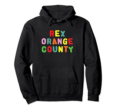 Unisex Rex Orange County Hoodie Small Black