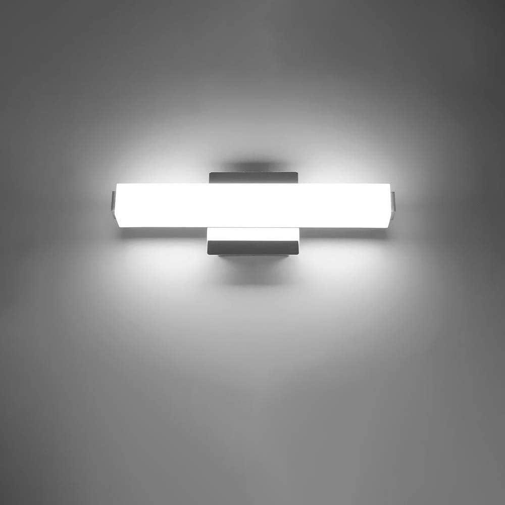 16 53inch Bathroom Led Vanity Lights 8w Mirror Front Wall Lights Bathroom Wall Lighting Fixtures Wall Light Lamp Cool White 6000k Amazon Co Uk Lighting