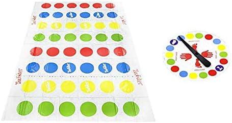 Juegos de Suelo Tapete Twister Hasbro Juego Divertido Familiar Juego de Mesa Infantil para Padres e Hijos Juego de Piso de Habilidad para Niños y Adultos (Multicolor, 160 * 110cm): Amazon.es: Deportes