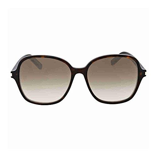 Saint Laurent Classiques 8 lunettes de soleil Havana Brown CLASSIC 8 004 57 Brown Gradient