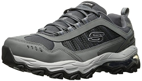 (Skechers Sport Men's M. Fit Air Oxford,Gray/Black,10 2E US)