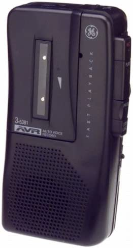 B00000J05Z GE 35381 Voice-Activated Microcassette Recorder 412QJNVQ0NL.