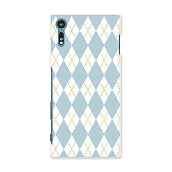 672dd60ca4 XperiaXZ SOV34 ソフトケース スマコレ スマホケース オリジナルスマートフォンケース ハンドメイド 携帯ケース【print】 アーガイル