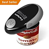 Electric Can Opener, Mini Restaurant Can Opener, Smooth Edge Automatic Electric Can Opener