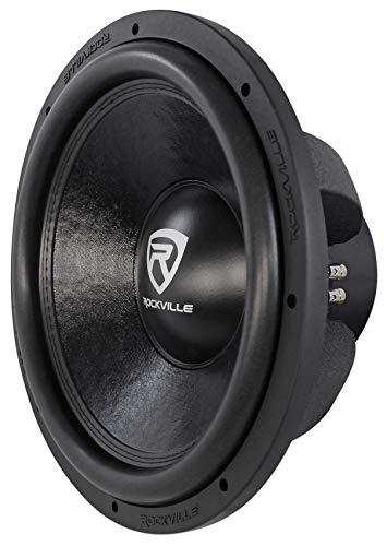 Rockville W15K6D2 V2 15' 4000w Car Audio Subwoofer Dual 2-Ohm Sub CEA Compliant