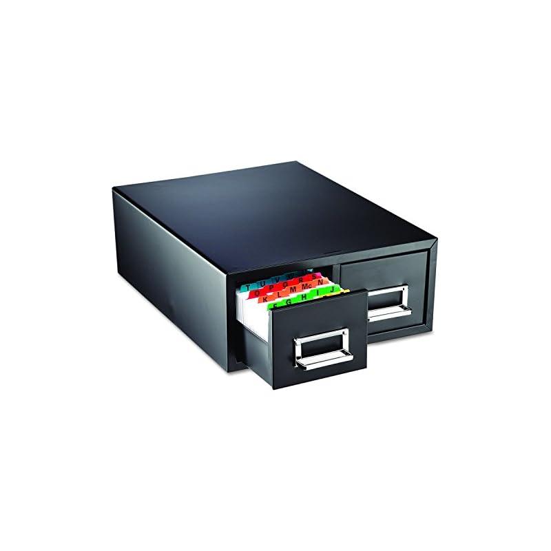 "SteelMaster 263F5816DBLA Drawer Card Cabinet Holds 3,000 5 x 8 cards, 18 2/5"" x 16"" x 7 1/4"""