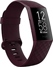 Fitbit Charge 4 fitness and Activity Tracker with Built-In Gps, Heart Rate, Rosewood, One Size