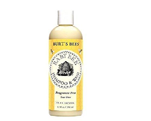 Burt's Bees Baby Bee Shampoo & Wash, Fragrance Free-12 fl oz (355 g)