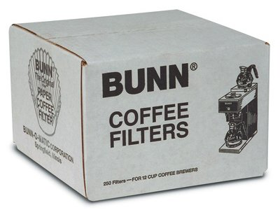 BUNBCF250 - Flat Bottom Coffee (Bunn Coffee Pot Filters)
