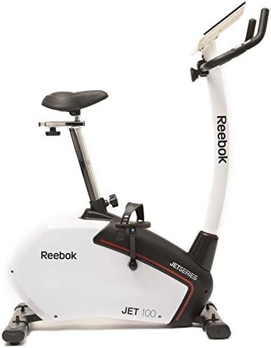 Reebok Jet 100 Series Bikes, Color Negro/Blanco, Talla única: Amazon.es: Deportes y aire libre