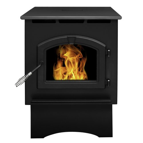 Pleasant Hearth 35,000 BTU Medium Pellet Stove (Best Wood Pellets For Heating)