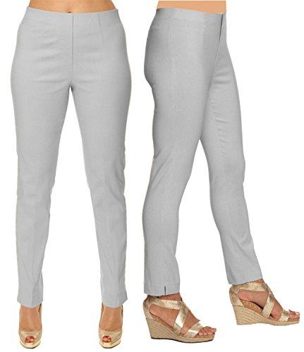 Lior paris Sasha Essential Slim Fit Ankle Pant (14, - Pearl 28 Inch