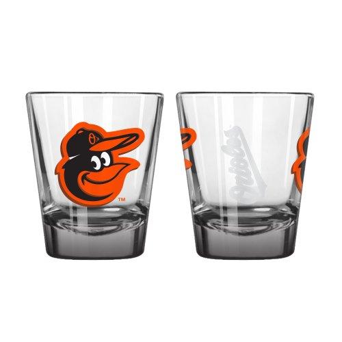 Boelter Brand Baltimore Orioles 2 Oz. Elite Collectible Shot Glass (Baltimore Orioles Glass)