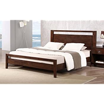 Amazon Com Kota Modern Queen Size Solid Wood Platform Bed