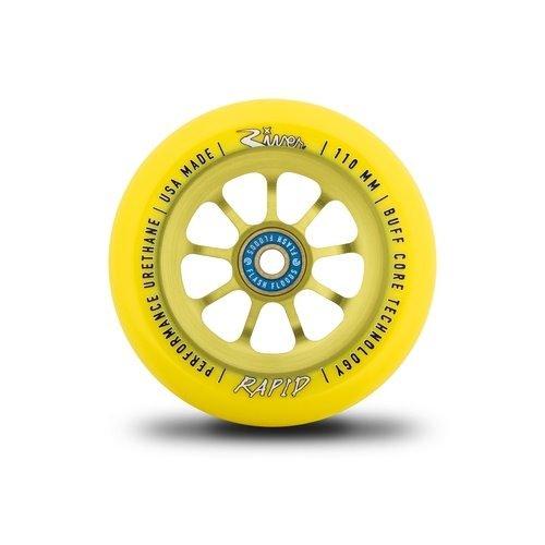 River Rapid 110mm Wheels Sunrise Yellow (Pair)