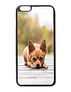 Chihuahua Pattern Image Protective Iphone 5/5S Hard Plastic Case Cover For Apple Iphone 6 Plus 5.5 Inch es
