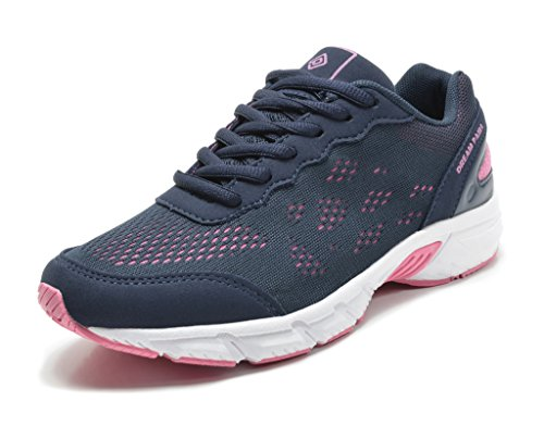 DREAM PAIRS 160480-W New Women's Light Weight Easy Walk Casual Athletic Comfort Gym Sport Sneaker Shoes