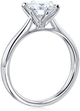 Kobelli 1.5ct Round Forever One Moissanite 6-Prong Ring (DEF/VS)