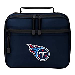 """Officially Licensed NFL Tennessee Titans """"Cooltime"""" Lunch Kit Bag, Blue, 10"""" x 8"""" x 3"""""""