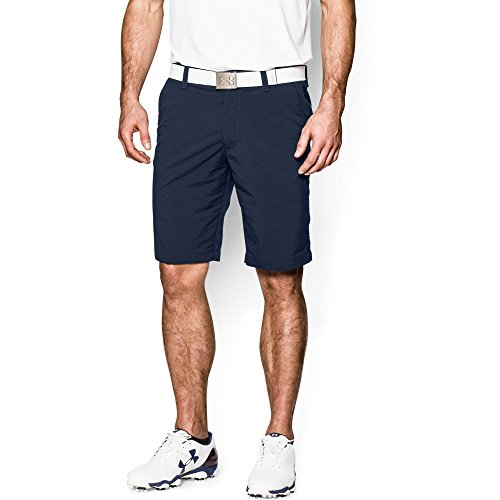 Under Armour Men's Match Play Shorts, Academy (408)/Academy, (Blue Golf Shorts)
