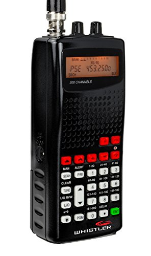 Whistler WS1010 Analog Handheld Scanner (Black)