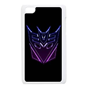 ipod touch 4 phone cases White Transformers cell phone cases Beautiful gifts YWTS0422115