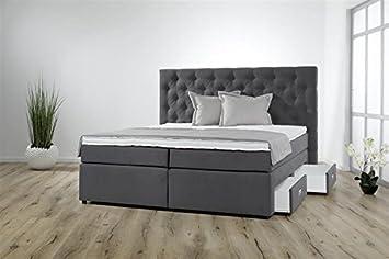 Amazon De Breckle Boxspringbett 120 X 200 Cm Lerche Box Mit