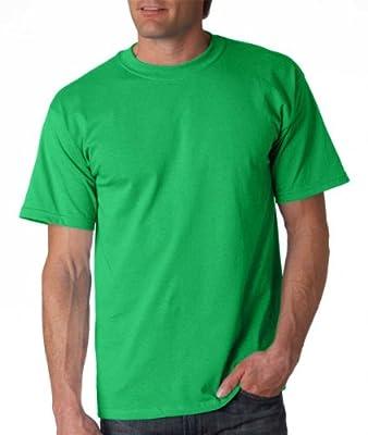 Gildan Adult Ultra Cotton T-Shirt, Irish Green, X-Large. 2000