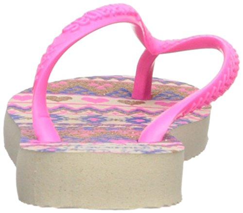 Pictures of Havaianas Kids Slim Fashion Sandal Beige/Pink 8 M US 8
