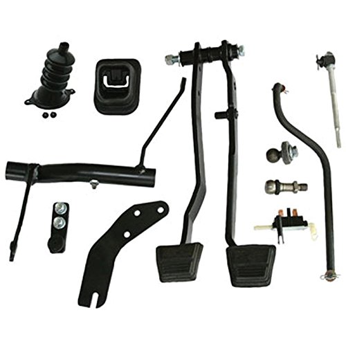 Eckler's Premier Quality Products 55196617 El Camino Clutch Linkage Conversion Kit