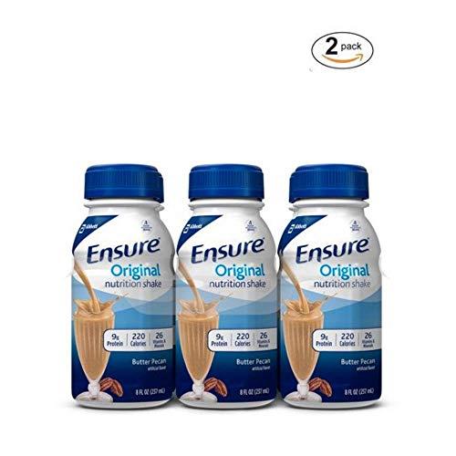 Ensure Original Nutrition Shake, Butter Pecan, 8 fl oz, 6 Count, 2 pack