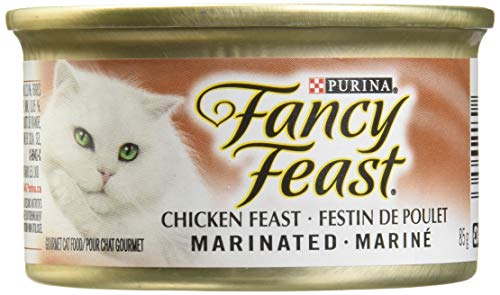 Pet Supplies 85gm Fashionable Patterns Cat Supplies Kind-Hearted New Fancy Feast White Label Seafood Medley
