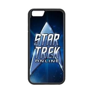 Pattern Hard Case Cover iPhone 6 Plus 5.5 Inch Cell Phone Case Black Star Trek Mnefz Back Skin Case Shell