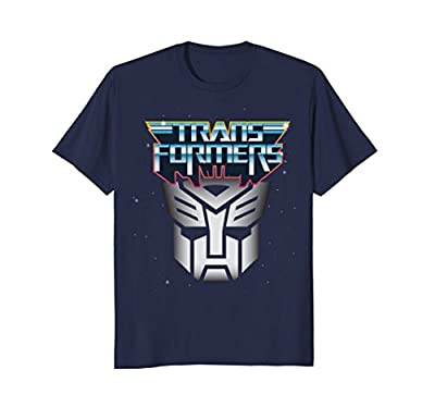 Transformers Large Retro Design Shield T-Shirt