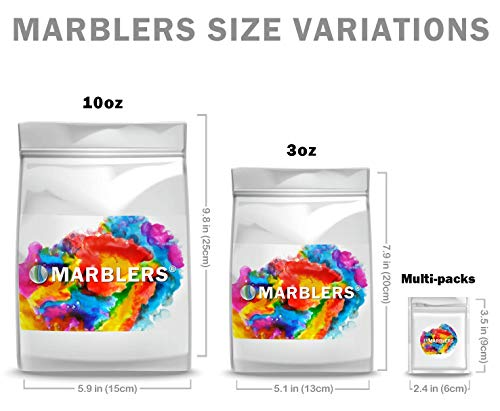 Marblers Powder Colorant 10oz (283g) [Cherry Red] | Pearlescent Pigment | Tint | Pure Mica Powder for Resin | Dye | Non-Toxic | Great for Paint, Concrete, Epoxy, Soap, Nail Polish, Cosmetics by Marblers (Image #6)