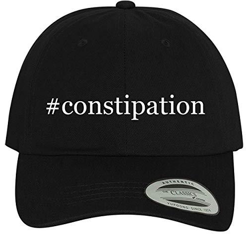 BH Cool Designs #Constipation - Comfortable Dad Hat Baseball Cap, Black