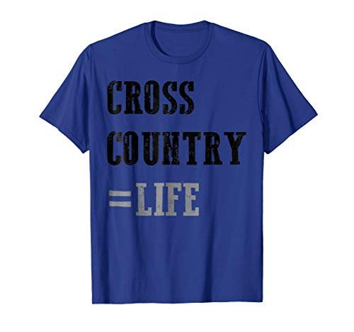 Fun XC Cross Country Life Track Running Sport T-Shirt