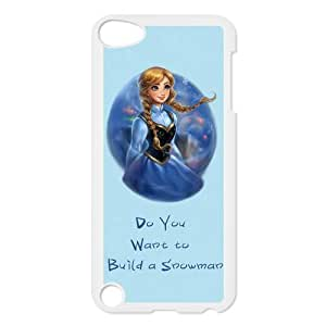 New Fashion Frozen Design Hard Plastic Skin Case Compatible with Apple iPod Touch 5/5th Generation