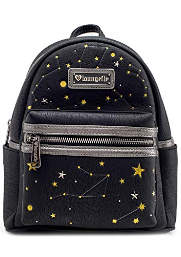 Loungefly Celestial Constellations Faux-Leather Mini Backpack