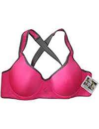 Jessica Simpson Pink Key Hole Back Sports Bra - Size 36C