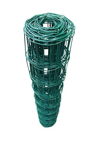 D 76mm 80cm x 10m TOP MULTI Maschendrahtzaun Wildzaun Gartenzaun PVC-beschichtet gr/ün versandkostenfrei